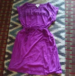 🌿Ava & Viv Plum Sleeveledd Dress Sz 1X🌿